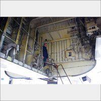 Boeing 777 wheelbay